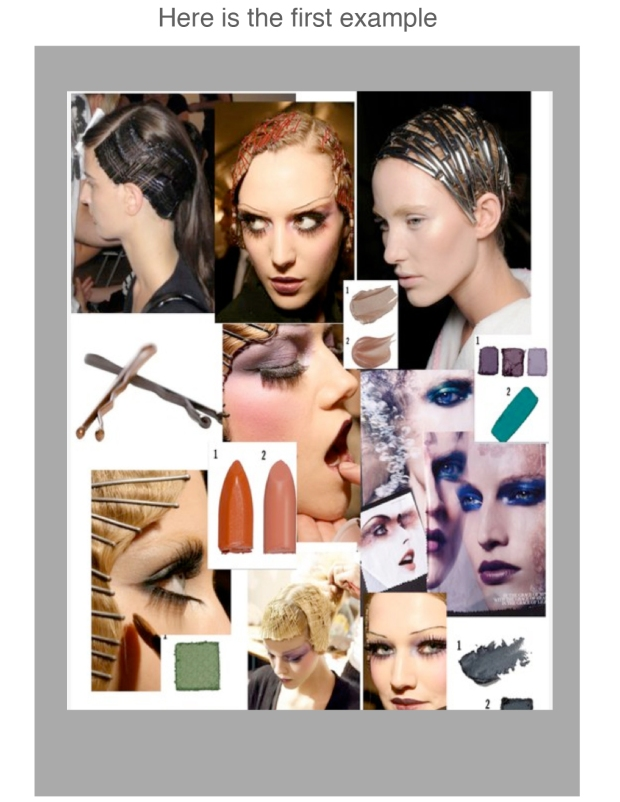 story board for bobbi pins