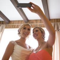 Wedding day selfie